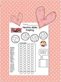 Graphing Valentine M & M's Candy Pieces