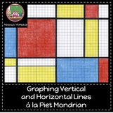 Graphing Vertical and Horizontal Lines a la Piet Mondrian