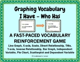 Graphing Vocab I Have - Who Has Game