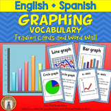 Graphing Vocabulary Trading Card Activities and Posters