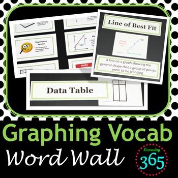 Graphing Vocabulary Unit Bundle