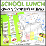 Data and Graphing Activity - Favorite School Lunch