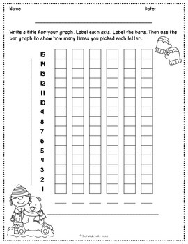 Graphing and Data Collection Activity Winter