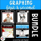 Graphing 1st & 2nd Grades || Bar, Picture, and Pictographs || Distance Learning
