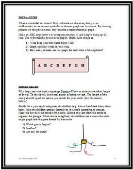 Graphing Without Paper or Pencil -  Math Hands-On Graphing Activities