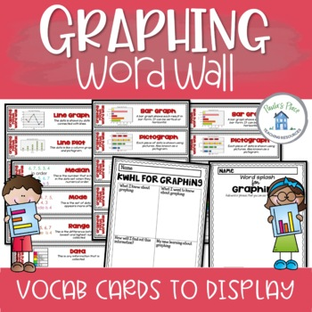 Graphing - Word Wall Cards