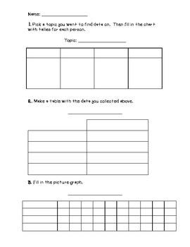 Graphing Worksheet