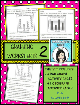 Graphing Worksheet Pages ( Bar Graphs and Picture Graphs)