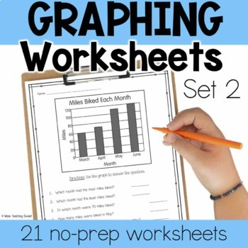 Graphing Worksheets - Set 2