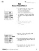 Graphing Worksheets + Test