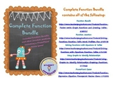 Graphing, Writing, & Interpreting Functions, Graphs, & Tables Bundle