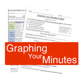 Graphing Your Minutes - Math Project