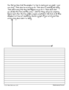 Graphing Your Story Lesson and Worksheet
