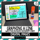 Graphing a Line Written in Slope Intercept Form For Google Drive™