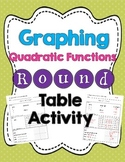 Graphing a Quadratic Function Round Table Activity