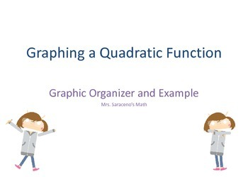 Graphing a Quadratic Function - a Graphinc Organizer