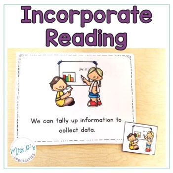 Graphing and Collecting Data  (Special Education Math Unit)