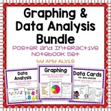Graphing and Data Analysis Bundle Posters Interactive Notebook INB