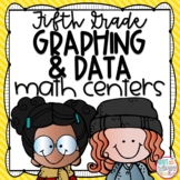 Graphing and Data ***FREE*** Fifth Grade Math Centers