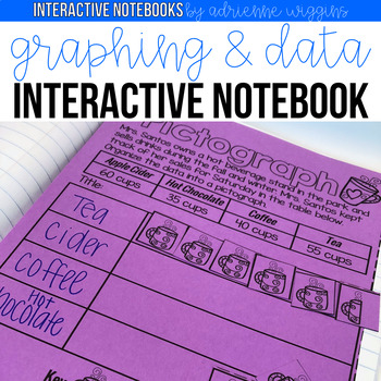 Graphing and Data Interactive Notebook w/ Probability Bonus!