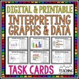 Graphing Task Cards | Distance Learning | Google Classroom
