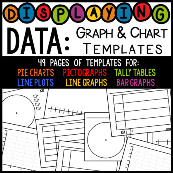 Displaying Data Graph Table And Chart Templates Pdf Png