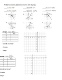 Graphing and Identifying Exponential Functions (Great for