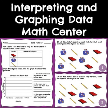 Graphing and Interpreting Data Math Center (1.MD.C.4)