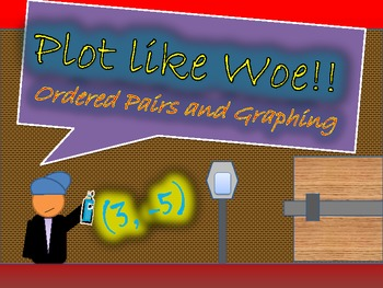 "Graphing and Ordered Pairs ""Plot Like Woe!!"""