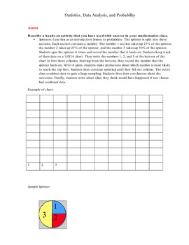 Graphing and Probability