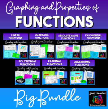 Functions and Their Graphs Bundle