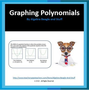 Graphing Quadratic Equations by Factoring and Line of Symmetry Scaffold Notes