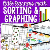 Graphing and Sorting for Preschool, Pre-K, and Kindergarten