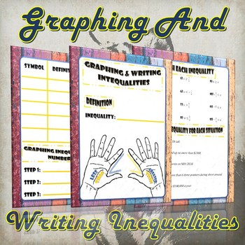 Graphing and Writing Inequalities- (Guided Notes & Practice)