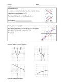 Graphing and Writing Inverse Functions