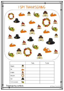 Graphing and data -- Fall/Thanksgiving Theme