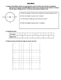 Graphing and writing trigonometry equations of various Fer