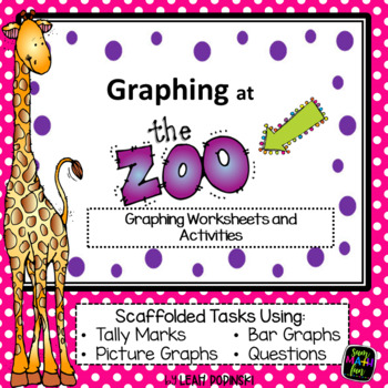 Graphing at the Zoo No Prep Printables