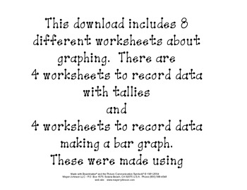 Graphing data with tallies and bar graphs