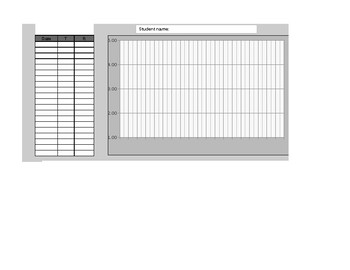 Graphing excel file