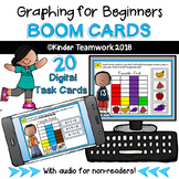 Graphing for Beginners Digital BOOM Task Cards