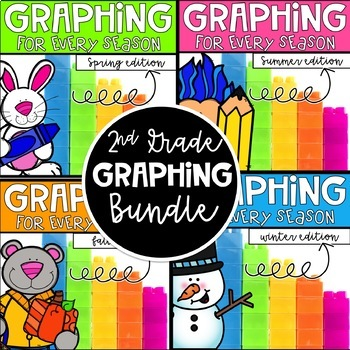 Graphing for Every Season! A COMPLETED Bundle for 2nd grade! CC aligned!