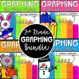 Graphing for Every Season! A Bundle for 2nd grade! CC aligned!