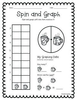 Graphing for Kindergarten and First Grade Sampler (Freebie)