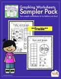 Graphing for Kindergarten and First Grade Sampler (Freebie)