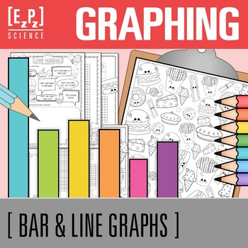 Graphing for Middle School- Bar Graphs and Line Graphs