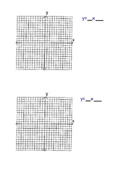 Graphing in Slope Intercept Form Activity
