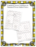 Graphing in Standard Form Guided Notes
