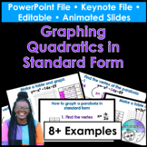 Graphing in Standard Form PowerPoint/Keynote Presentations