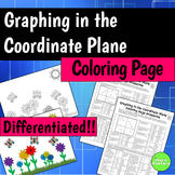 Graphing in the Coordinate Plane Coloring Page